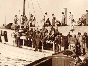 Boat, 1945