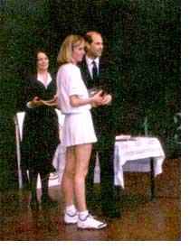 Prince Edward Giving an Award