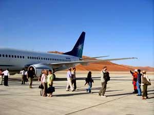 Aramco 737 in Rub Al-Khali