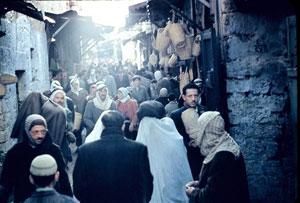 Crowded Street Scene