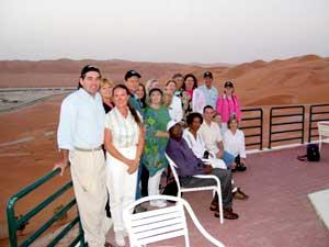 Teachers at Shaybah