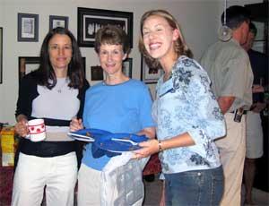 Kate Brundage, Tricia Franck and Michelle Tillery
