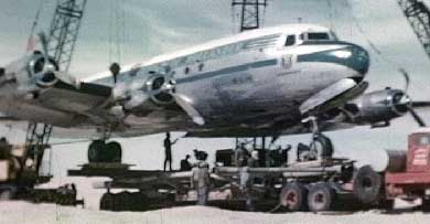 Aramco Rescues a KLM DC-4