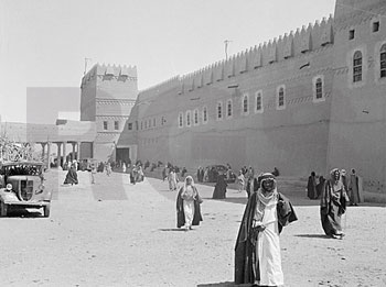 Royal Palace in Riyadh, 1937