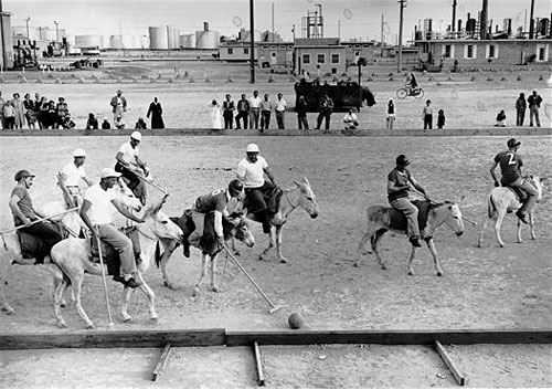 Donkey Polo Match