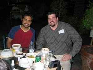 Saif and Jerome