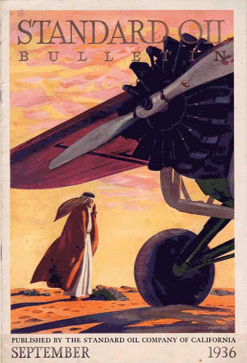 1936 Standard Oil Bulletin Cover