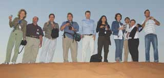 U.S. educators join Saudi Aramco staff at Shaybah
