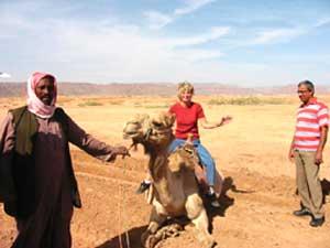 Camel Riding in Saudi Arabia